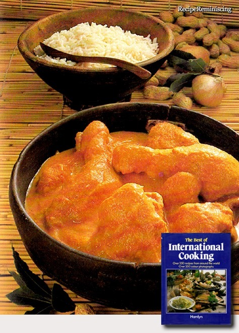 West African Chicken in Peanut Sauce / Vestafrikansk Kylling i Peanøttsaus