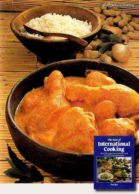 Vestafrikansk Kylling i Peanøttsaus