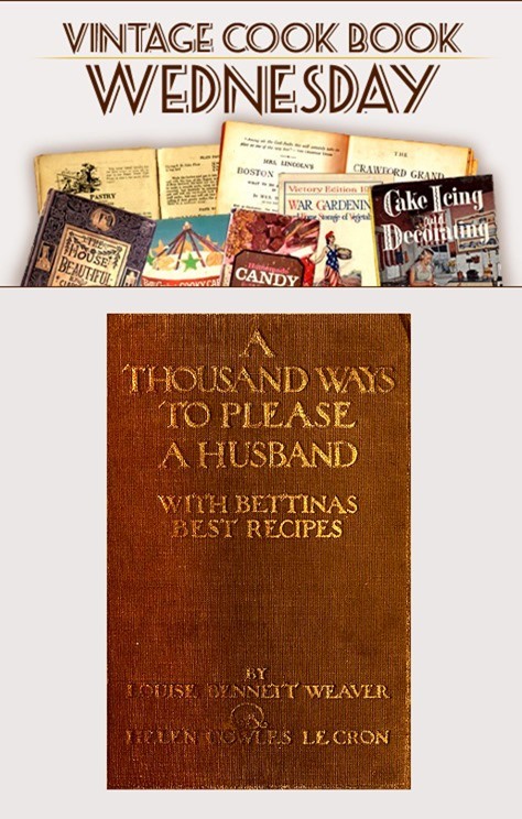 A Thousand Ways to Please a Husband