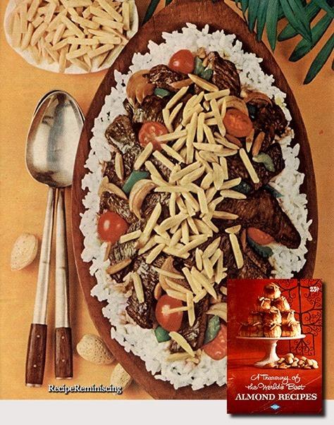 Almond Beef Hawaiian / Biff med Mandler Som På Hawaii