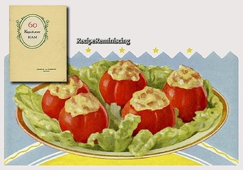 Baked Stuffed Tomatoes / Bakte Fylte Tomater