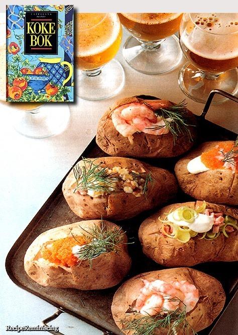 Baked Potato Variations / Bakt Potet Variasjoner