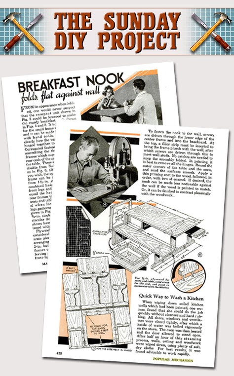 Breakfast Nook - Popular Mechanics March 1941