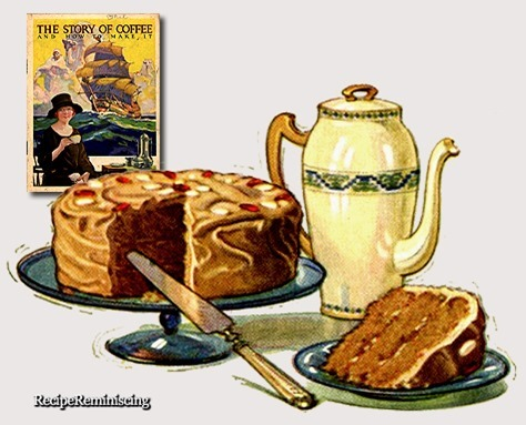 Coffee Spice Cake / Kaffe- og Krydderkake
