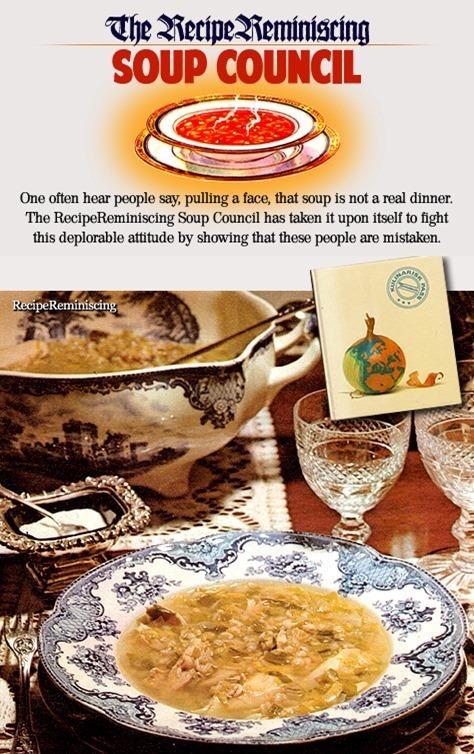 Cock-a-Leekie Soup / Kyllingsuppe med Purre
