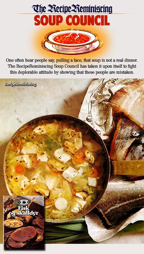 Fiskesuppe – Grunnoppskrift