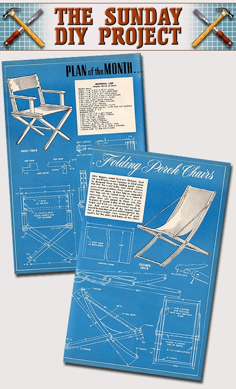 DIY Sunday - Folding Porch Chairs