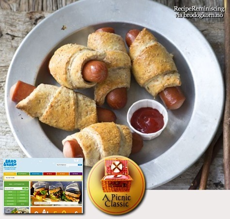 Wholemeal Frankfurter Crescents / Grove Pølsehorn