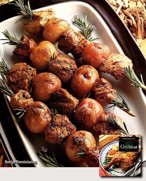 Lamb and Potatoes Skewers