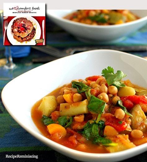 Moroccan Garbanzo Bean Stew / Marokkansk Garbanzobønnestuing
