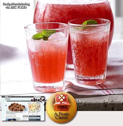 Pink Picnic Lemonade / Rosa Pikniklimonade