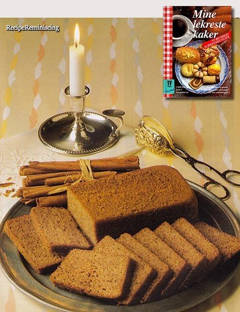 The Vicarage's Spice Cake / Prestegårdens Krydderkake