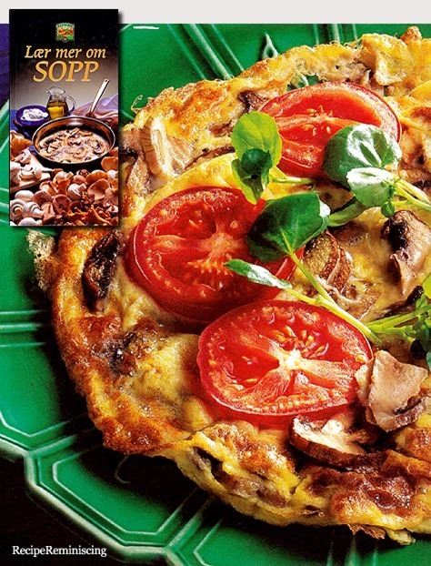 Mushroom Omelet / Soppomelett