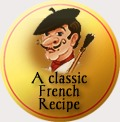 traditional badge french_flat