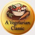 traditional badge vegetarian