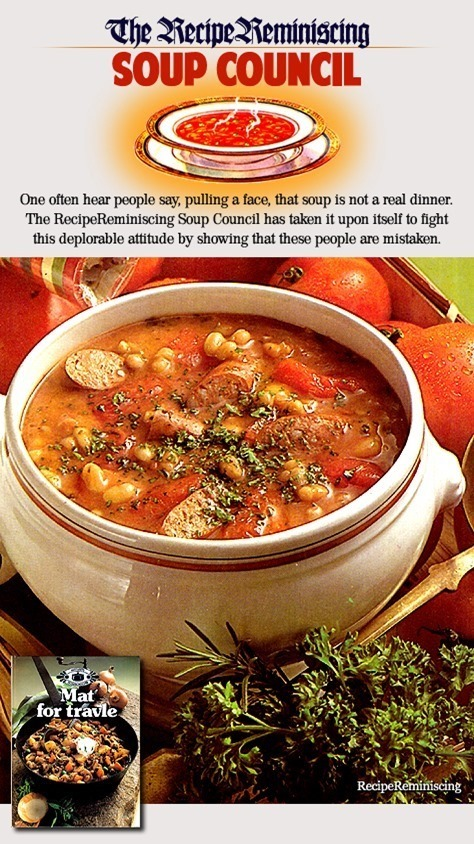 Hungarian Bean Soup / Ungarsk Bønnesuppe