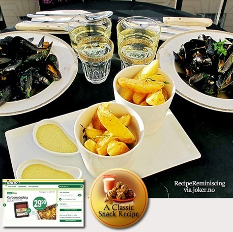Belgian Mussels and French Fries / Belgiske Blåskjell og Pommes Frites