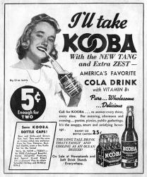 Soda & Soft Drink Saturday - Kooba Cola