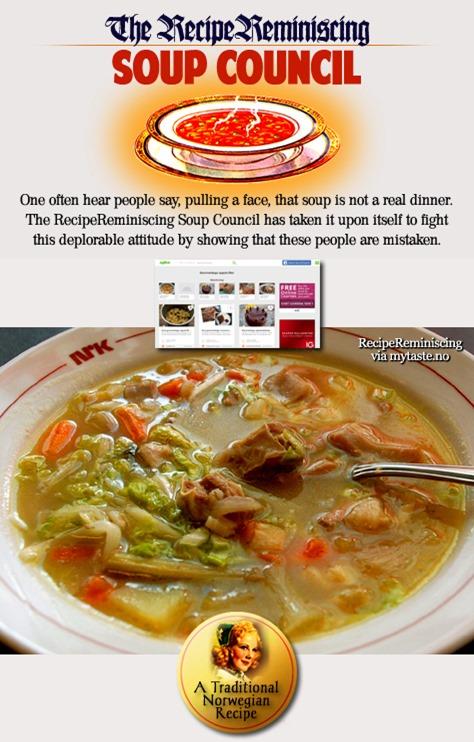 Gammeldags Kjøttsuppe