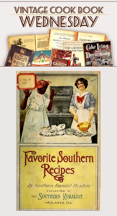 Favorite Southern Recipes from1915 in PDF