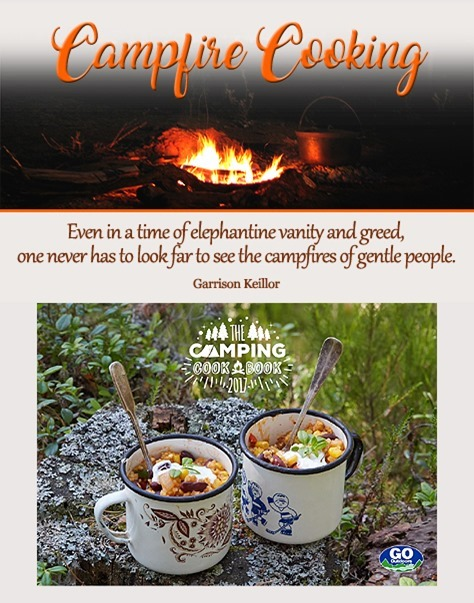 Go Outdoor's 2017 Camping Cook Book in PDF