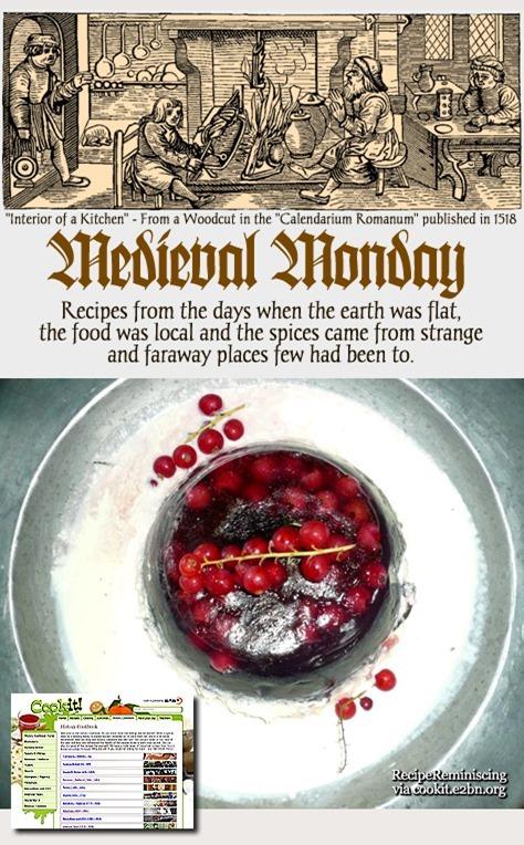 Medieval Monday – Almond Leach / Mandel Leach