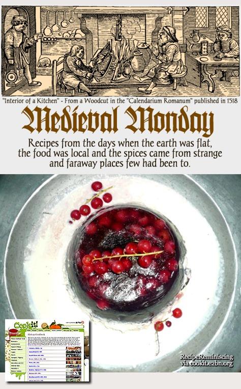 Medieval Monday - Almond Leach