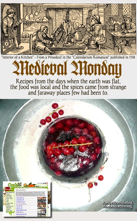 Medieval monday almond leach recipereminiscing this period recipe explains how to make almond leach leech forumfinder Gallery