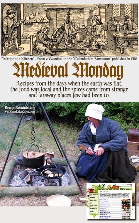 Medieval M0nday - Apple Puffs / Eplemosdessert