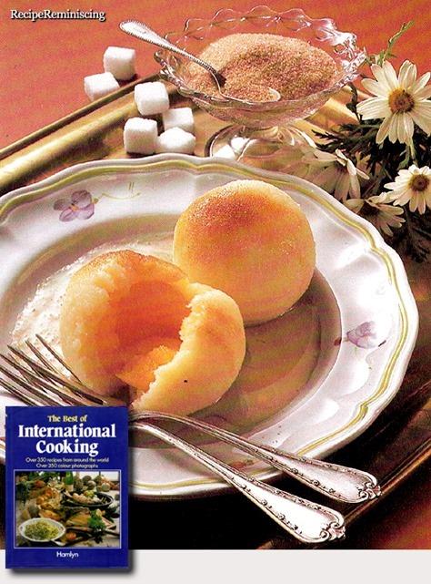 Austrian Apricot Dumplings / Østerrikske Aprikosdumplings