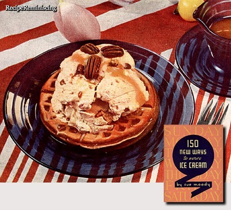 Butter Pecan Gaufrettes / Krokan Gaufrettes