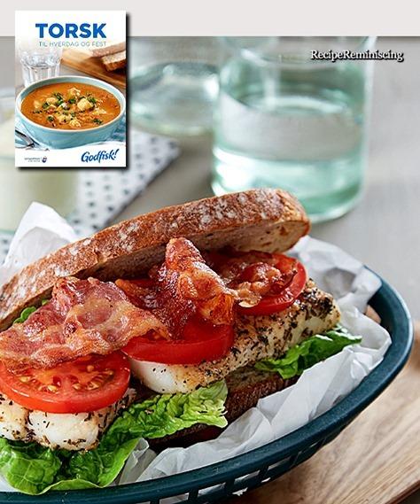 Club Sandwich with Cod