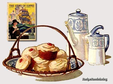 Cupcakes med Kaffe og Nøtter