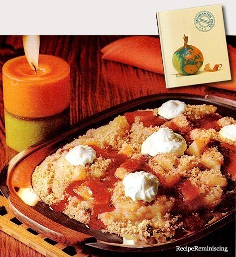 Danish Apple Dessert / Dansk Epledessert