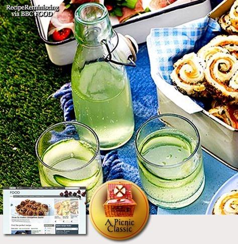 Elderflower & Cucumber Gin & Tonics / Hylleblomst & Agurk Gin & Tonics