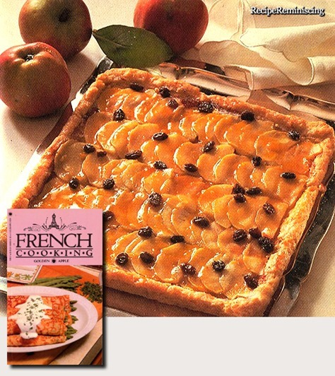 French Apple Pie / Fransk Eplepai