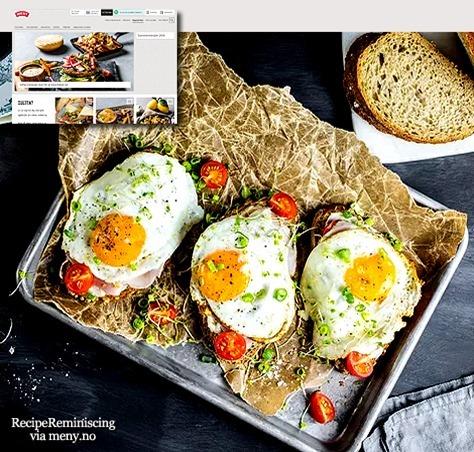 Breakfast Sandwich with Fried Egg