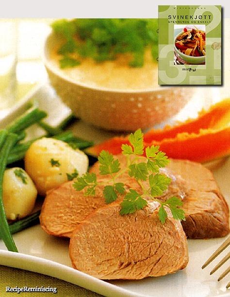 Roast Pork Tenderloin with Tropical Sauce
