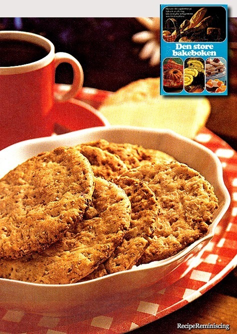 Norwegian Wheat Biscuits / Hvetekjeks