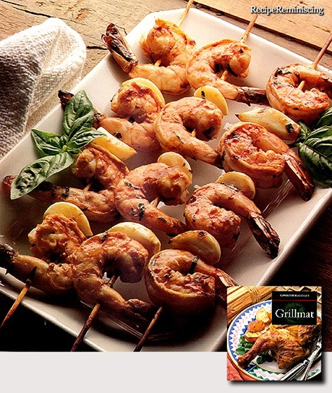Grilled Scampi with Garlic