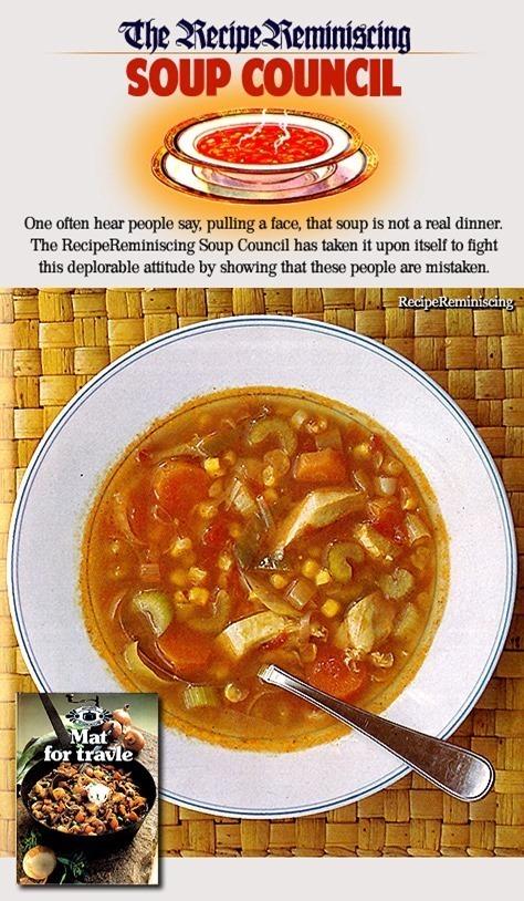 Mexican Chicken Soup / Meksikansk Hønsesuppe