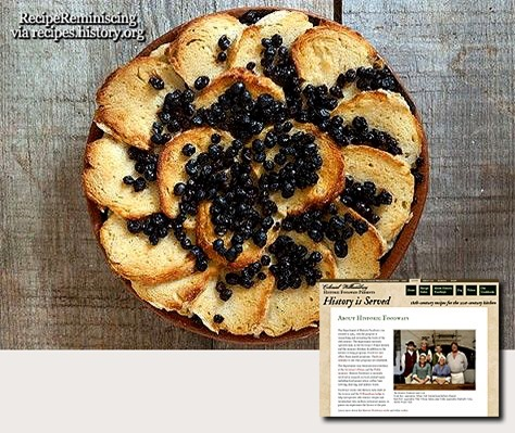 18th Century Sippet Pudding / Sippet Pudding fra det 18de Århundre
