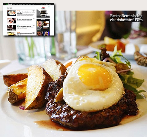 Steak and Eggs with Beer and Molasses