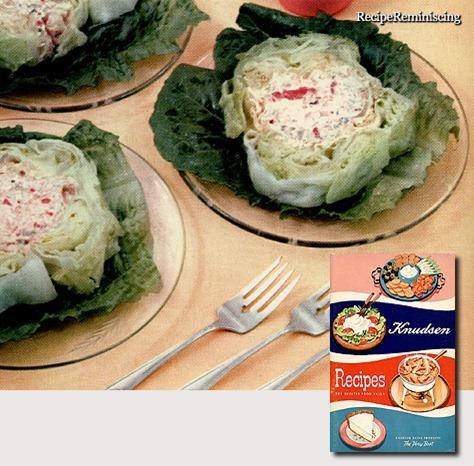 Stuffed Iceberg Lettuce / Fylt Isbergsalat