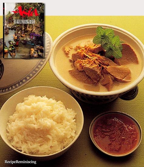 Thit Heo Tau - Svinekjøtt Kokt i Kokosmelk