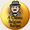 traditional badge belgian