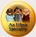traditional badge ethnic speciality_flat