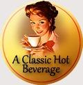 traditional badge hot beverage
