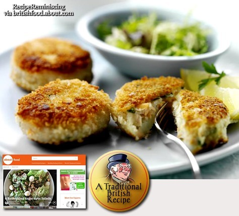 Traditional Smoked Mackerel Fishcakes / Tradisjonelle Fiskekaker av Røkt Makrell