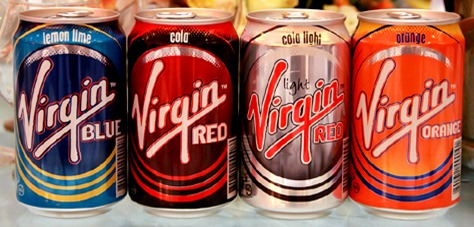 Soda & Soft Drink Saturday - Virgin Cola